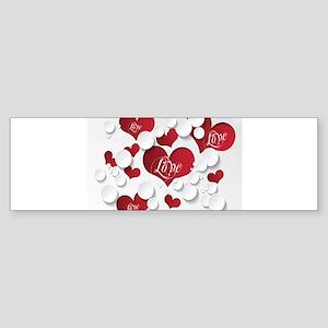 Romantic Love Bumper Sticker