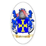 Mullings Sticker (Oval 50 pk)