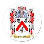 Mulligan Round Car Magnet