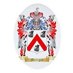Mulligan Oval Ornament