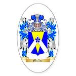 Muller Sticker (Oval 50 pk)