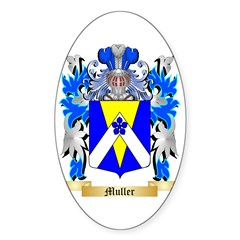Muller Sticker (Oval 50 pk)