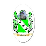 Mulledy 20x12 Oval Wall Decal
