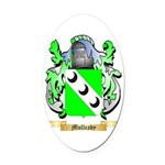 Mulleady Oval Car Magnet