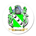 Mulleady Round Car Magnet