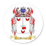 Mullan Round Car Magnet