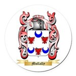 Mullally Round Car Magnet