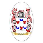 Mullally Sticker (Oval 10 pk)