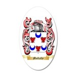 Mullally 20x12 Oval Wall Decal