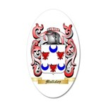 Mullaley 35x21 Oval Wall Decal