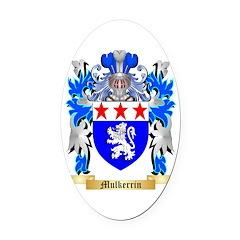 Mulkerrin Oval Car Magnet