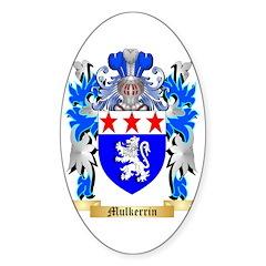 Mulkerrin Sticker (Oval 10 pk)