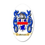 Mulinari 35x21 Oval Wall Decal