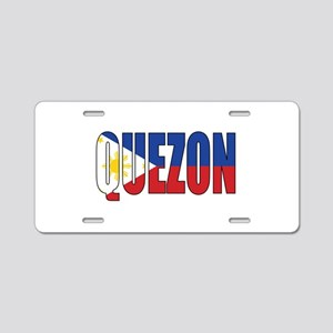Quezon Aluminum License Plate