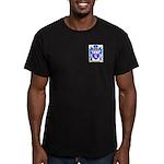 Mulherrin Men's Fitted T-Shirt (dark)