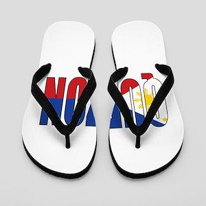 cae2212b7 Filipino American Flip Flops - CafePress