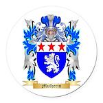 Mulherin Round Car Magnet