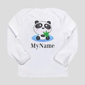 Panda (p) Long Sleeve T-Shirt