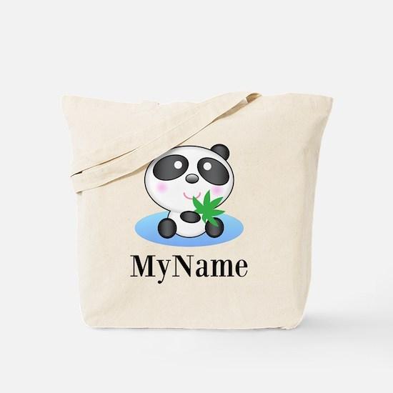 Panda (p) Tote Bag