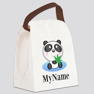 Panda (p) Canvas Lunch Bag