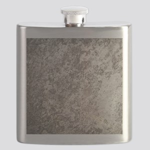 WEATHERED GREY STONE Flask
