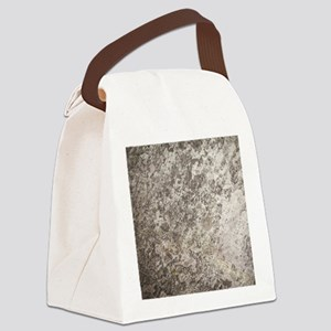 WEATHERED GREY STONE Canvas Lunch Bag