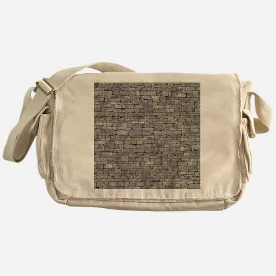 STONE WALL GREY Messenger Bag