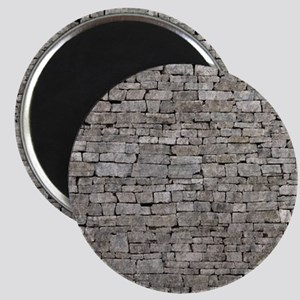 STONE WALL GREY Magnet
