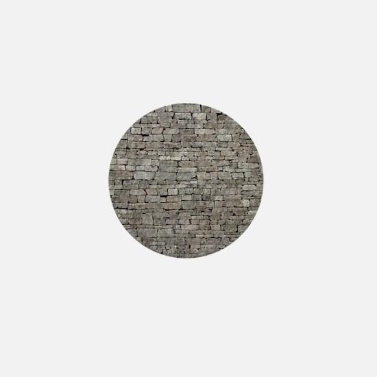 STONE WALL GREY Mini Button