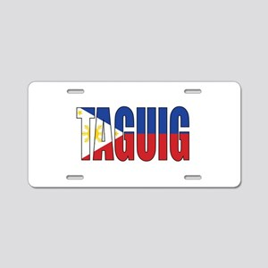 Taguig Aluminum License Plate