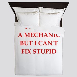 mechanic Queen Duvet