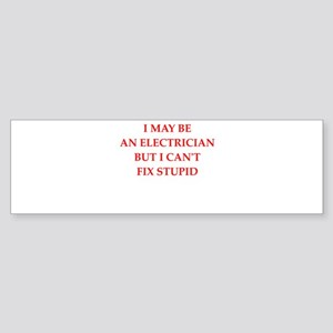 electrician Bumper Sticker