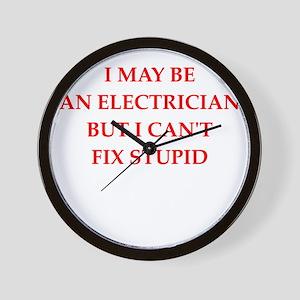 electrician Wall Clock