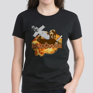 MacGyver In Action Women's Dark T-Shirt