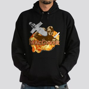 MacGyver In Action Hoodie (dark)