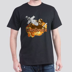 MacGyver In Action Dark T-Shirt