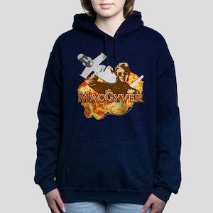 MacGyver In Action Women's Hooded Sweatshirt