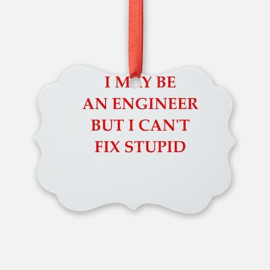 engineer Ornament