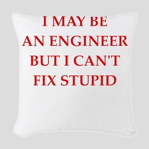 engineer Woven Throw Pillow