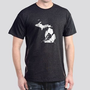 Ski Michigan Dark T-Shirt