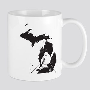 Ski Michigan Mug