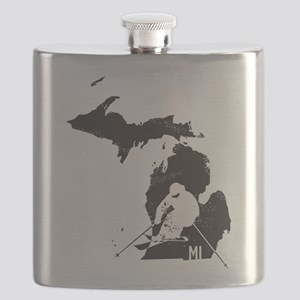 Ski Michigan Flask