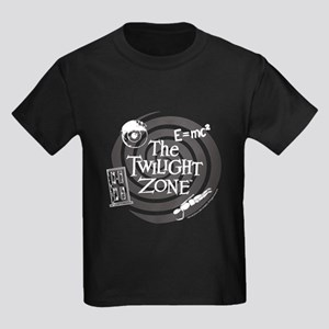 Twilight Zone: E=MC2 Kids Dark T-Shirt