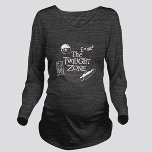 Twilight Zone: E=MC2 Long Sleeve Maternity T-Shirt