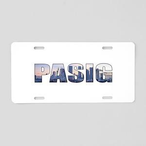 Pasig Aluminum License Plate