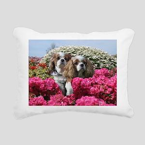 Helaine's Cavalier King Rectangular Canvas Pillow