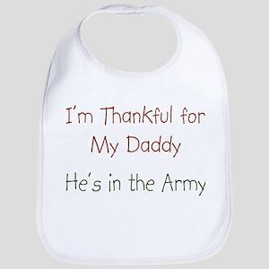 Army Daddy Bib