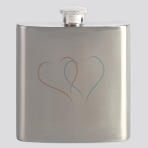 Twin Hearts™ by Leslie Harlow Flask