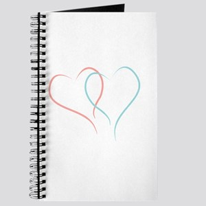 Twin Hearts™ by Leslie Harlow Journal