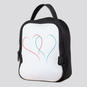 Twin Hearts™ by Leslie Harlow Neoprene Lunch Bag